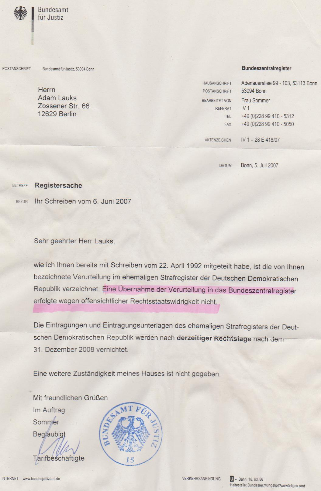 Meldung: Der Petitionsausschuss des Deutschen Bundestages verweigert die.  Veröffentlichung der Petition gegen Folter.